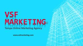 Web Design Company in Tampa - VSF Marketing
