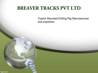 Tractor Mounted Drilling Rig Manufacturers In India