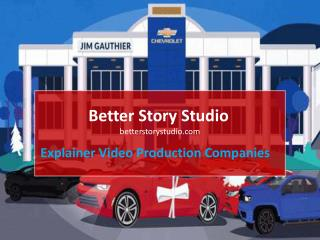 Hire Professional Explainer Video Production Companies