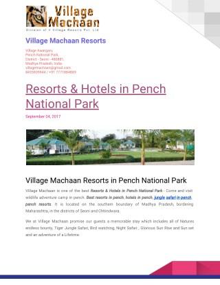 Jungle Safari Booking In Pench National Park