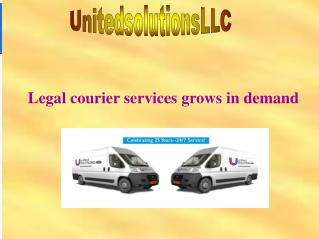 Legal courier services grows in demand