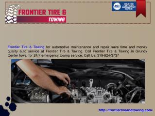 Roadside assistance,Tow Truck Cedar Falls IA