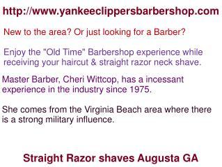 Barbershop Augusta GA, Mens Haircuts Augusta GA, Haircuts Augusta GA, Straight razor cuts Augusta GA, Neck shave Augusta
