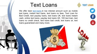Immediately Get Online Text Loans in UK