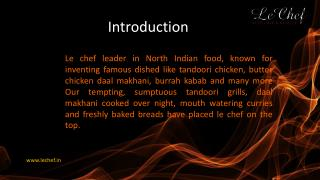 Le Chef Fine dining Restaurant in Faridabad
