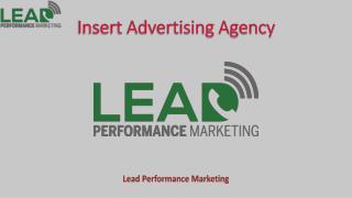 Insert Advertising Agency