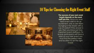 Simple Tips For Choosing The Right Event Organizer