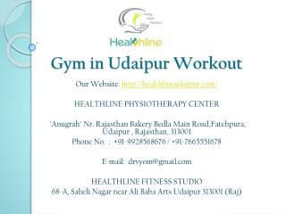 Gym in Udaipur Workout