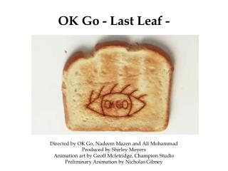 OK Go - Last Leaf - Official Video