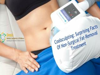 Coolsculpting: Surprising Facts Of Non-Surgical Fat-Removal Treatment