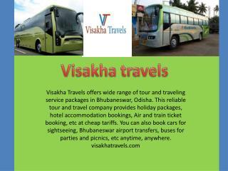 Book Best Travel Agency in Bhubaneswar
