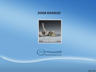 Buy online Door Handles -Doorhardware