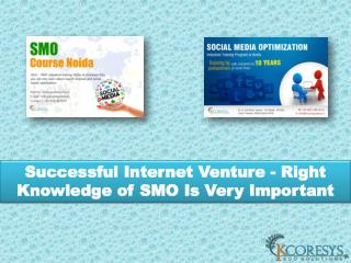 Successful Internet Venture - Right Knowledge of SMO Is Very Important