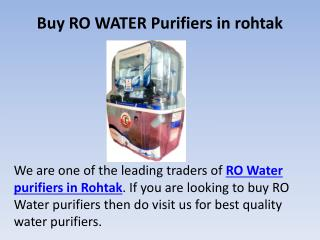 Buy ro water purifiers in rohtak, best cctv cameras in rohtak