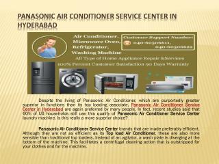 Panasonic Air Conditioner Service Center in Hyderabad