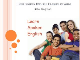 Best Spoken English Classes in noida-Bels English