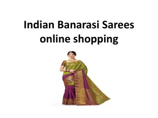 Indian Banarasi Sarees online shopping