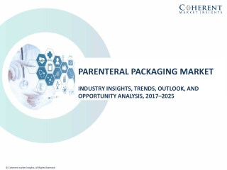 Parenteral Packaging Market to Surpass US$ 20.1 Billion Threshold by 2025, with North America positioned as Growth Engin