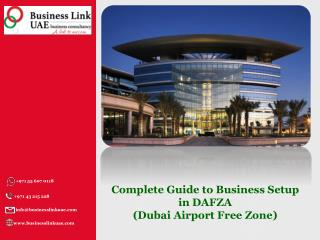 Complete Guide to Business Setup in Dubai Airport Free Zone
