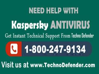 Free kaspersky Tech Support  1-800-247-9134
