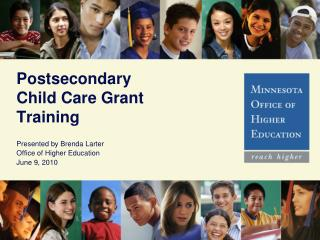 Postsecondary Child Care Grant Training