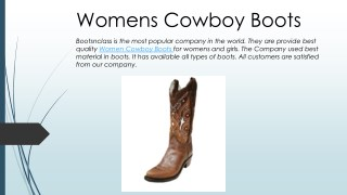 Brown Corral Boots