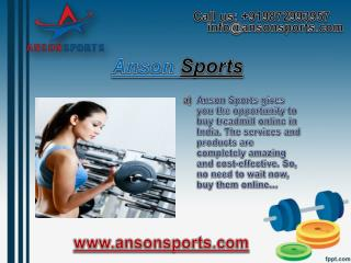 Buy Dumbbells Online India from Anson Sports
