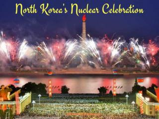 North Korea celebrates nuclear test