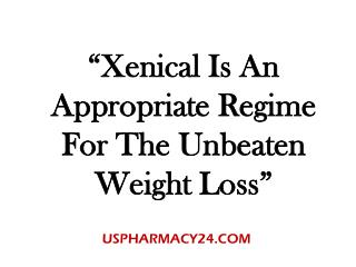 Xenical 120 mg For Obesity Treatment