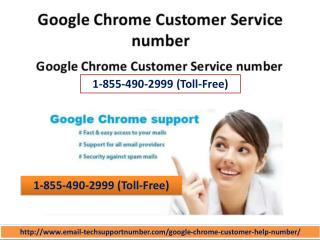 Call us on 1-855-490-2999 our Google Chrome customer care number if Google Chrome stopped working