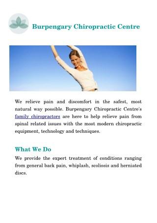 Family Chiropractic - Burpengary Chiropractic Centre