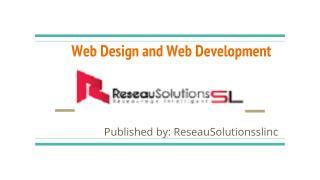 Professional web design services Canada