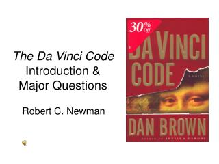 The Da Vinci Code  Introduction & Major Questions