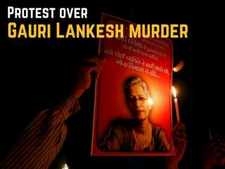 Gauri Lankesh murder protests highlights