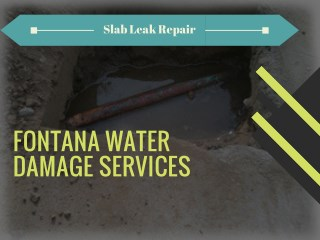 Great Slab Leak Service in Rancho Cucamonga & Ontario