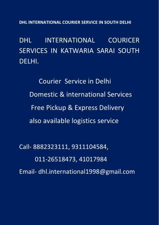 (Mob-8882323111),for Service CARGO & COURIER DELHi,south delhi