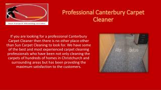 For A Professional Canterbury Carpet Cleaner Contact Sun Carpet Cleaning
