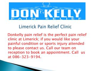 Limerick Pain Relief Clinic