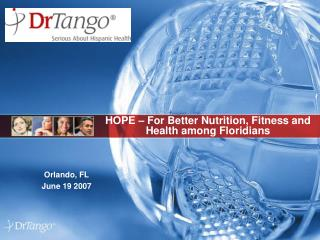 HOPE – For Better Nutrition, Fitness and Health among Floridians
