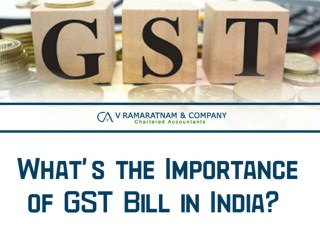 What's the importance of GST bill in India
