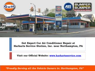 Schedule your Car Air Conditioner Repair at Harharts Service Station