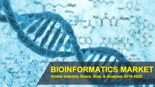 Bioinformatics Market | Global Industry Trends, Analysis, Revenue, Report 2017-2025