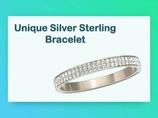 Unique Silver Sterling Bracelet