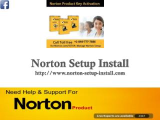 Norton Setup Install | Norton Setup Product Key | Call Toll Free 844-777-7886