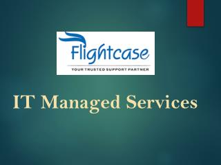A Brief About Managed Services