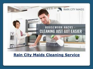 Cleaning Service by Rain City Maids