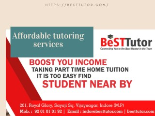 Private Tutor jobs in indore