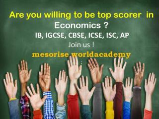 Best IB Economics Coaching Class Center  Tutor in Gurgaon South Delhi Malviyanagar