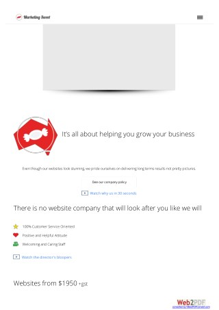 What Makes The Best Web Company?