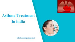 Asthma Treatment in india